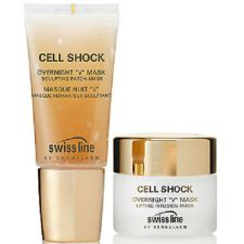 "Swissline Cell Shock Overnight ""V"" Mask 35 ml / 1.17 oz + 30 ml /  1 oz"