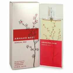 Armand Basi Sensual Red for women 3.4 oz Eau De Toilette EDT Spray