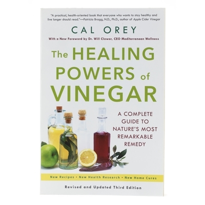 Book cover for The Healing Powers of Vinegar