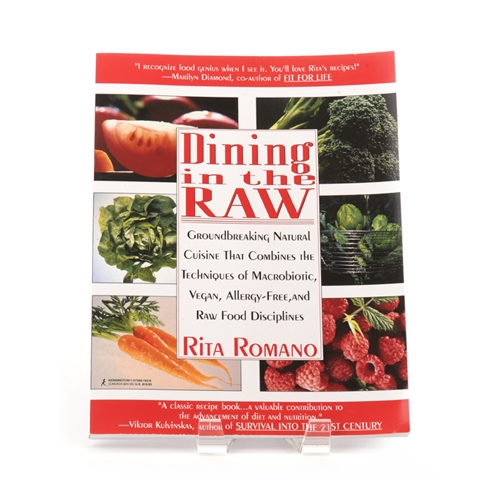 Book cover for Dining in the Raw - Groundbreaking Natural Cuisine That Combines the Techniques of Macrobiotic, Vegan, Allergy-Free, and Raw Food Disciplines