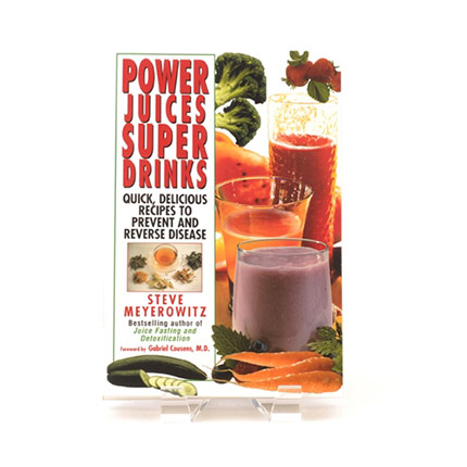 Book cover for Power Juices, Super Drinks