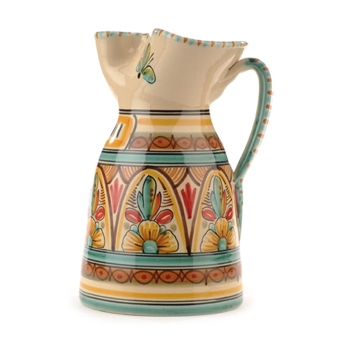 Tall Pitcher- Antique Green
