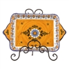 Large Rectangular Dish- Fiesta Yellow
