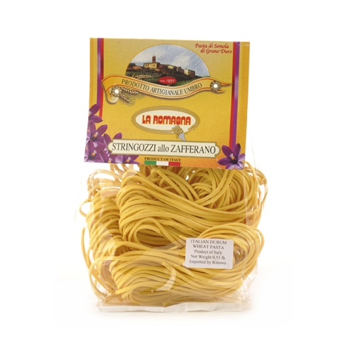 Package of Stringozzi Pasta with Saffron