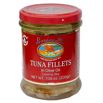 Tuna Filets in Glass Jar