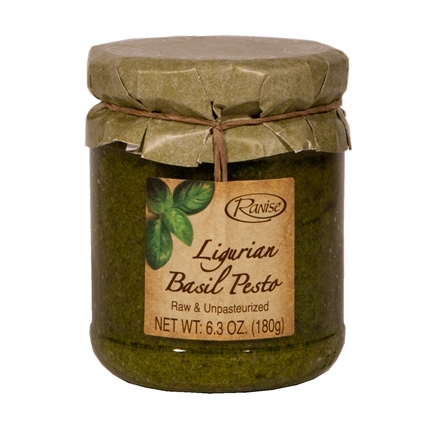 Jar of DOP ligurian Pesto