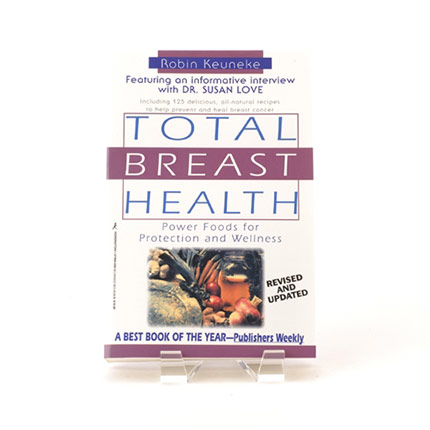 Book cover for Total Breast Health by Robin Keuneke