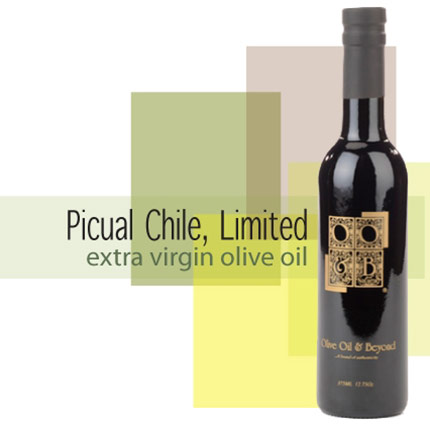 Bottle of Picual Limited Extra Virgin Olive Oil