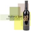 Bottle of Hojiblanca Spain (Organic) Extra Virgin Olive Oil
