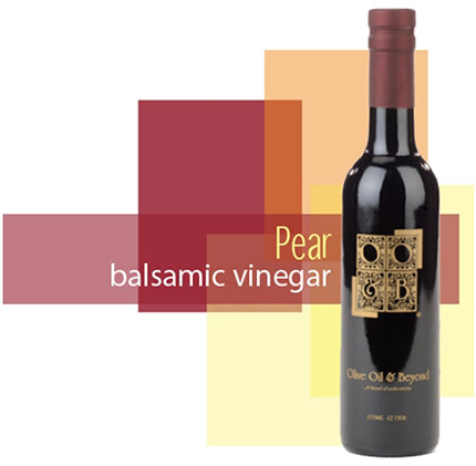 Bottle of Pear Balsamic Vinegar