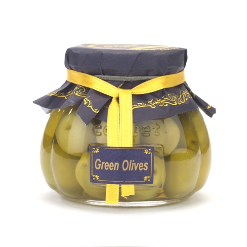 Delicious Whole Green Olives