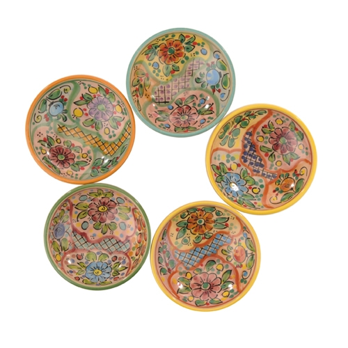 Set of 4 Dipping Bowls- Mosaic