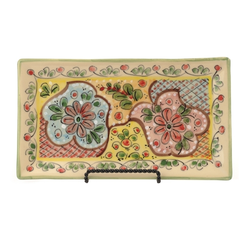 Small Rectangular Serving Plate