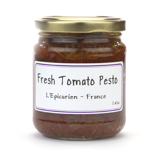 Jar of L'Epicurien Fresh Tomato Pesto