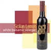 Bottle of Sicilian Lemon White Balsamic Vinegar