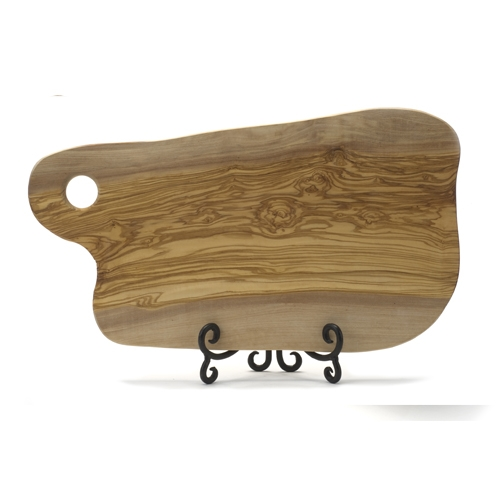 Olive Wood Cheese Board 9""