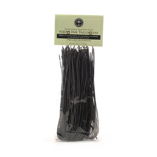 Package of Traditional Squid Ink Pasta
