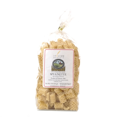 Package of Spugnette Pasta
