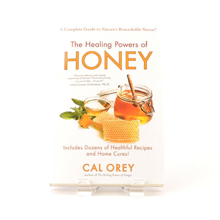 Book cover for The Healing Powers of Honey