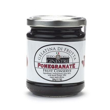 Jar of Pomegranate Fruit Sauce