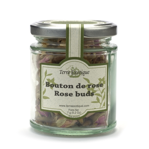 Rose Buds Jar