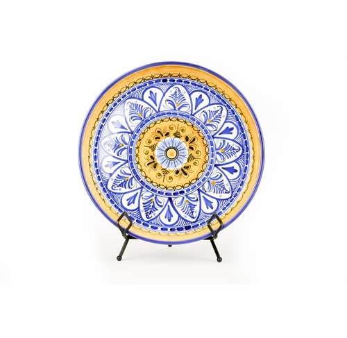 Large Serving Platter- Fiesta Yellow