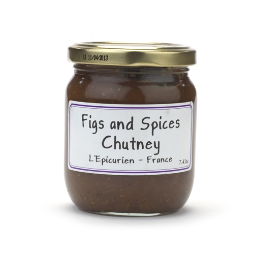 Jar of Figs and Spices Chutney