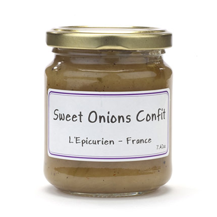 Jar of Sweet Onions Confit