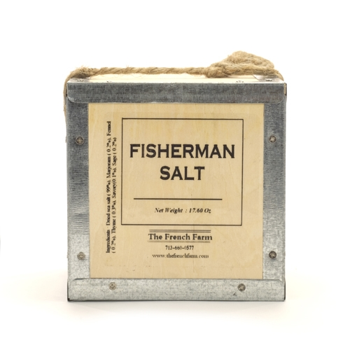 Fisherman Sea Salt in a Box