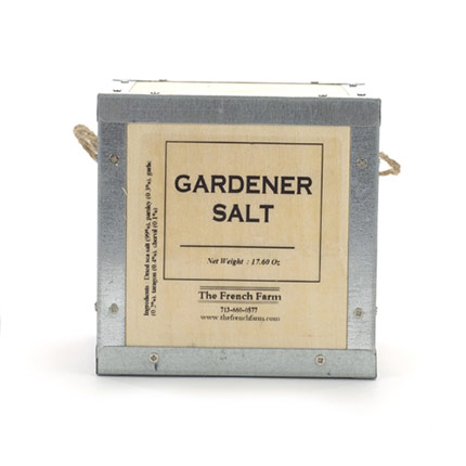 Gardener Sea Salt in a Box