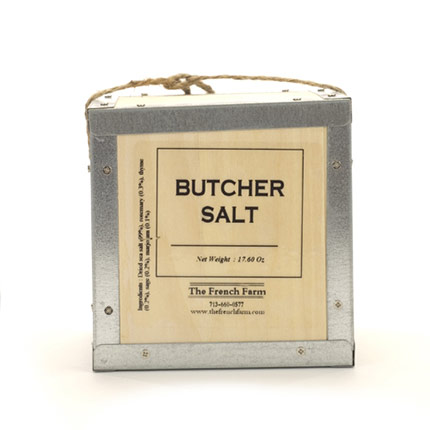 Butcher Sea Salt in a Box