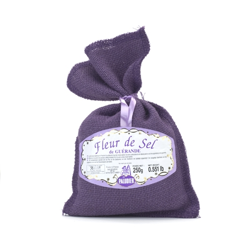 Flure del sel in Jute bag (Violet)