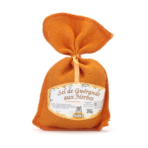 Flure del sel in Jute bag (Orange)
