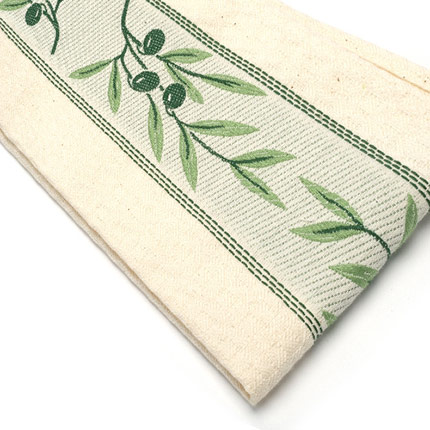 Hand Towel - Green Olives
