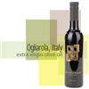 A bottle of Ogliarola Extra Virgin Olive