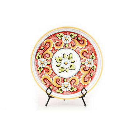 Large Serving Platter- Red