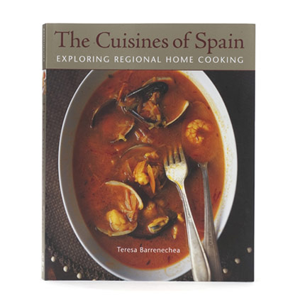 Cover of The Cuisines of Spain by Teresa Barrenechea