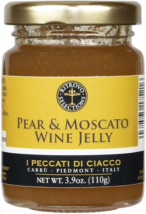Pear Moscato Wine Jelly