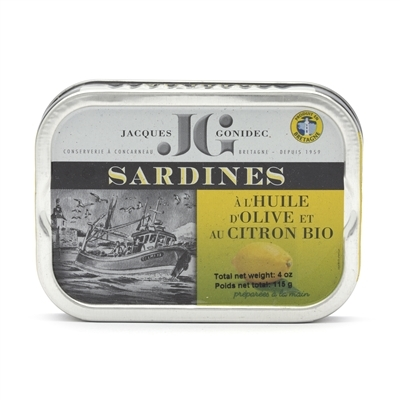 Tin of Sardines with Lemon & Chili