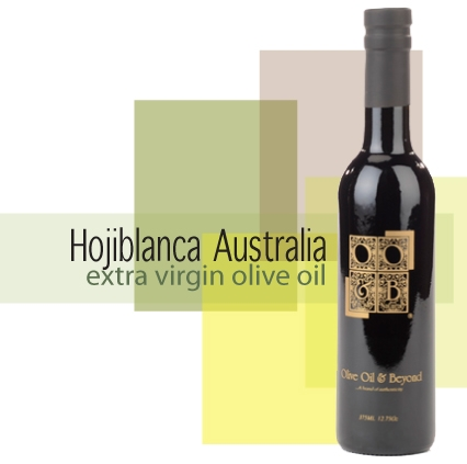 Bottle of Hojiblanca Australia Extra Virgin Olive Oil