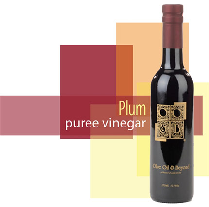 Bottle of Plum Puree Vinegar