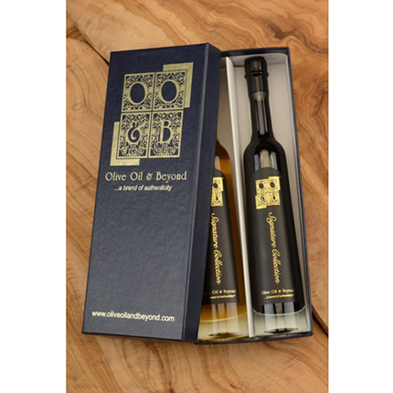 Cranberry Puree and SR 1330 Balsamic Vinegar Gift Set - Signature Black
