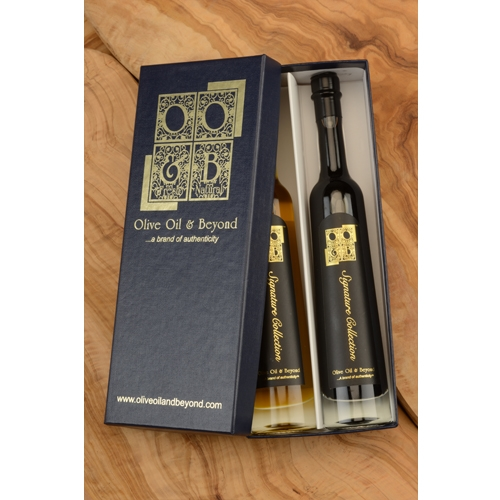 Plum Puree and SR 1330 Balsamic Vinegar Gift Set - Signature Black