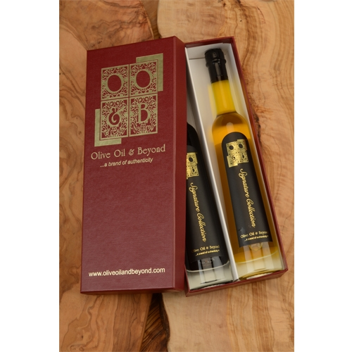 Pineapple White Balsamic Vinegar and SR 1250 Gift Set - Signature Red