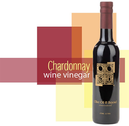 Bottle of Chardonnay Wine Vinegar