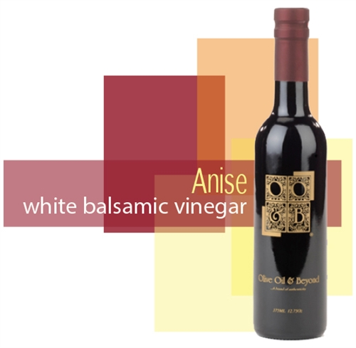 Bottle of Anise White Balsamic Vinegar