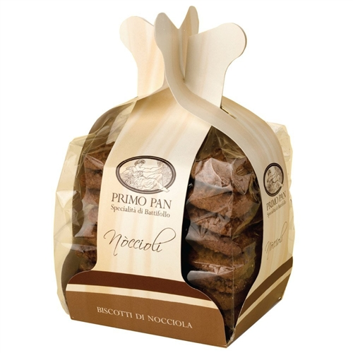Package of Noccioli (Hazelnut Cookies with Chocolate)