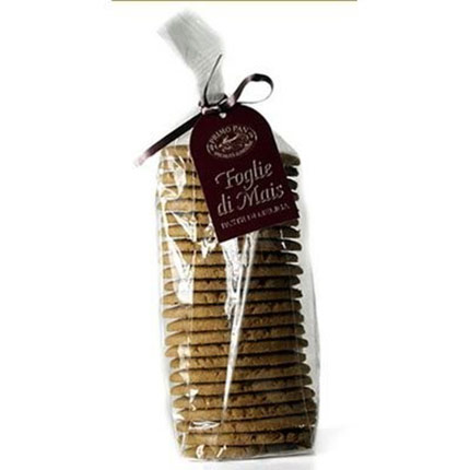 Package of Foglie di Mais (Corn Cookies)
