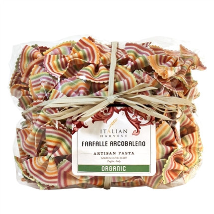 Package of Farfalle Arcobaleno (Rainbow Bowties)