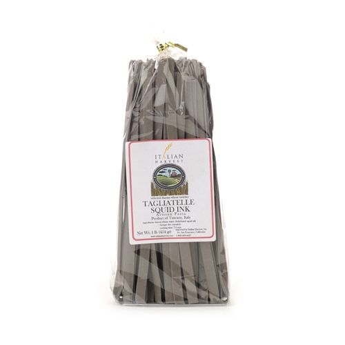 Package of Tagliatelle Black Squid Ink Pasta